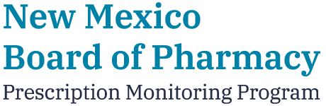 NM Board of Pharmacy - Perscription Monitoring Program logo